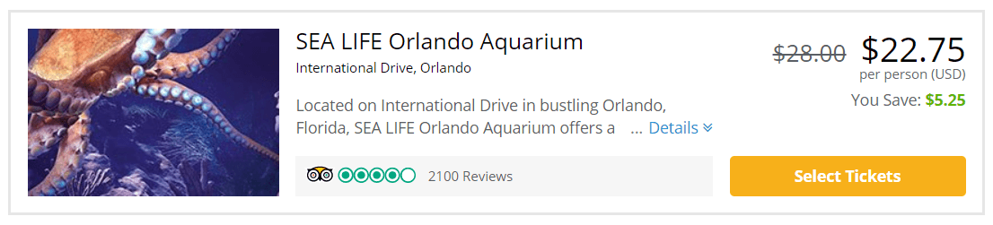 Top 10 IDrive Orlando Attractions cheap on a budget