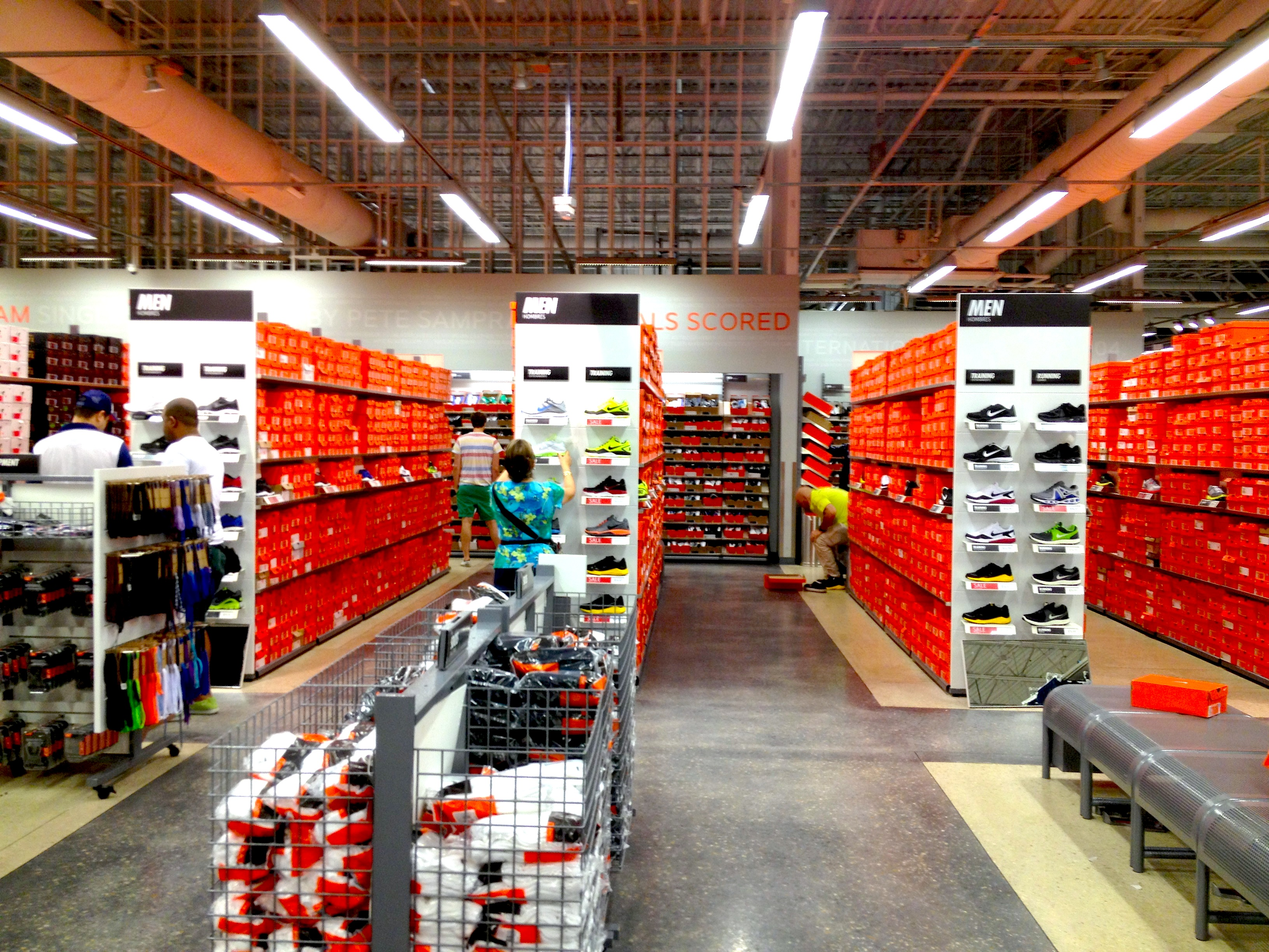 the nike factory outlet
