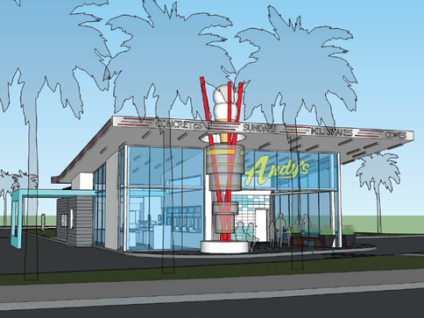 Andy's Frozen Custard store coming to I-Drive Orlando