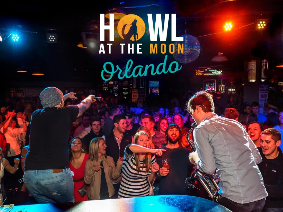 Howl at the Moon, a One of a Kind Night on the Town on I-Drive Orlando
