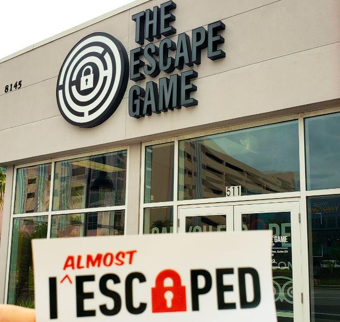 escape game idrive orlando