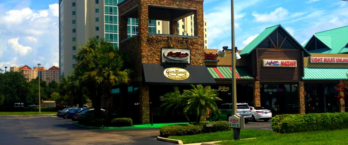 Restaurant Spotlight - Giordanos Pizza on IDrive Orlando