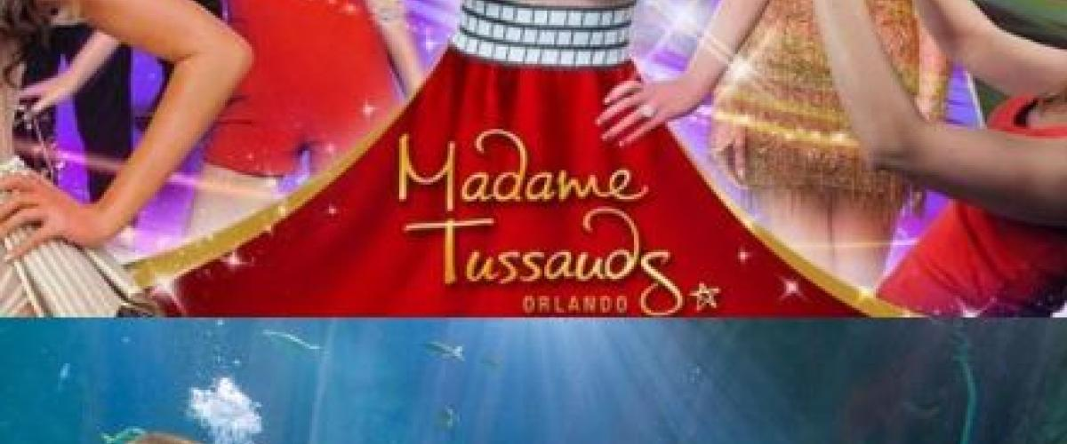 Two Tickets to Madame Tussauds or Sea Life Orlando for $25 Thru July 31st
